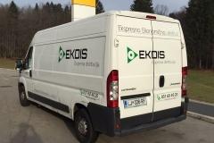 Polepitev Podjetje Ekdis