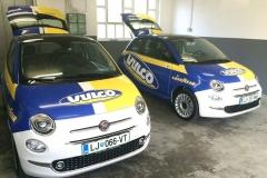 Polepitev Vulco Fiat 500