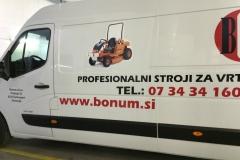 Polepitev  za Bonum