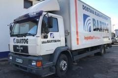 Polepitev kamijona Bartog