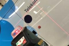 Polepitev službenih vozil Telekom Slovenije